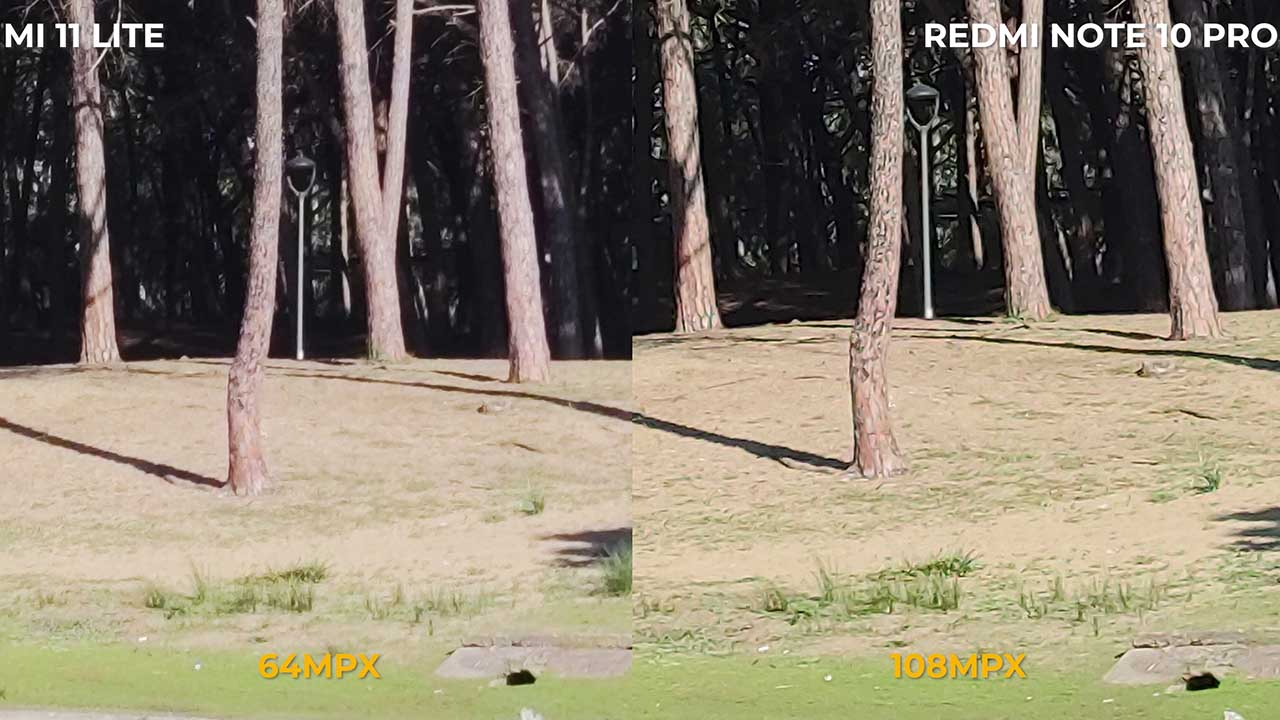 64mpx vs 108mpx Zoom digitale