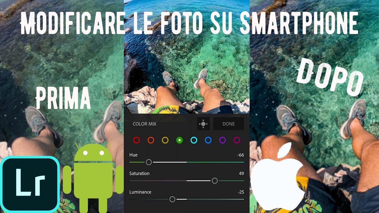 app modificare foto android ios iphone adobe lightroom