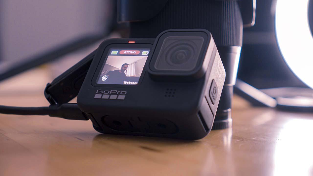 Gopro hero 9 come webcam