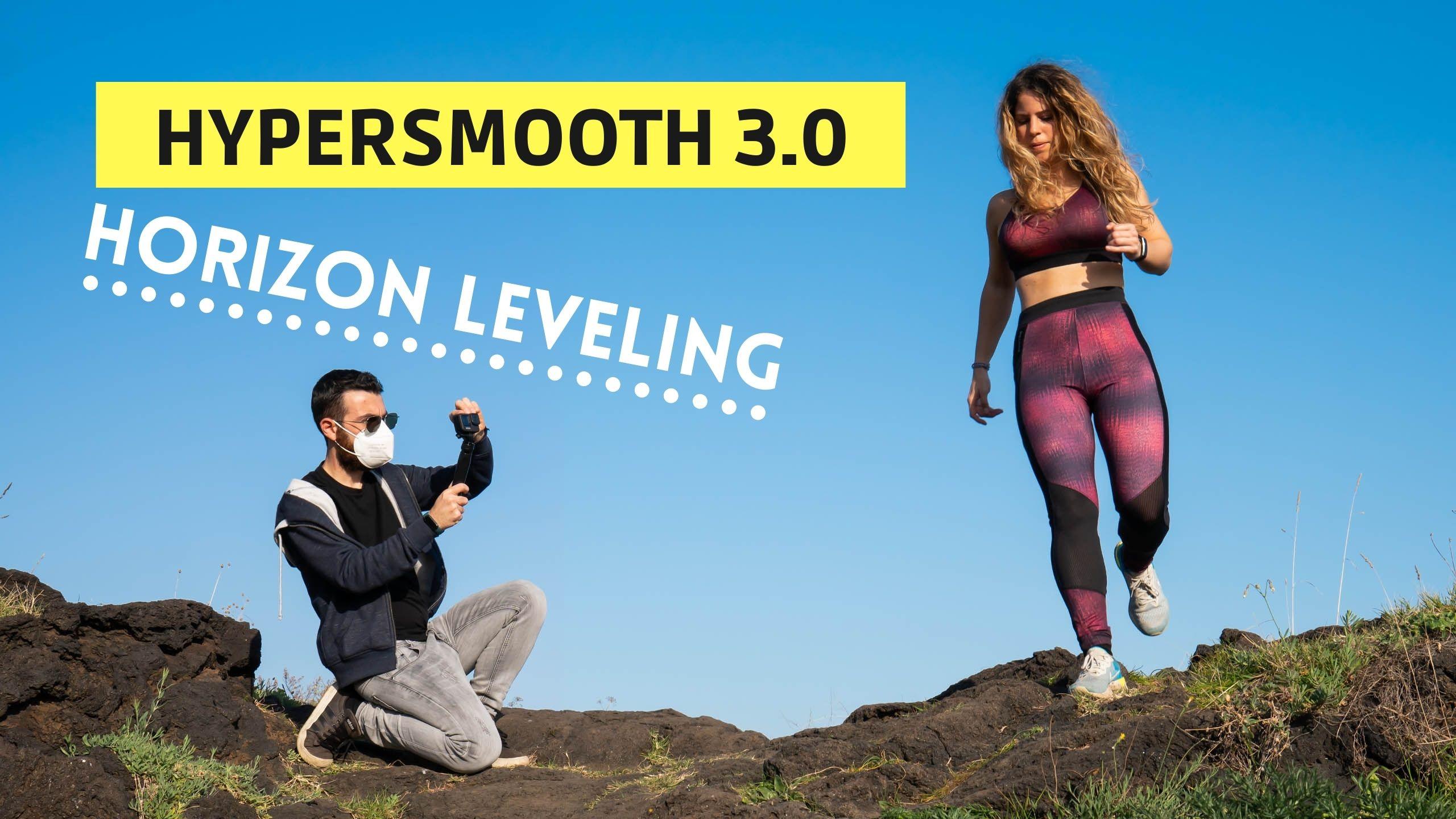 GoPro hypersmooth horizon leveling