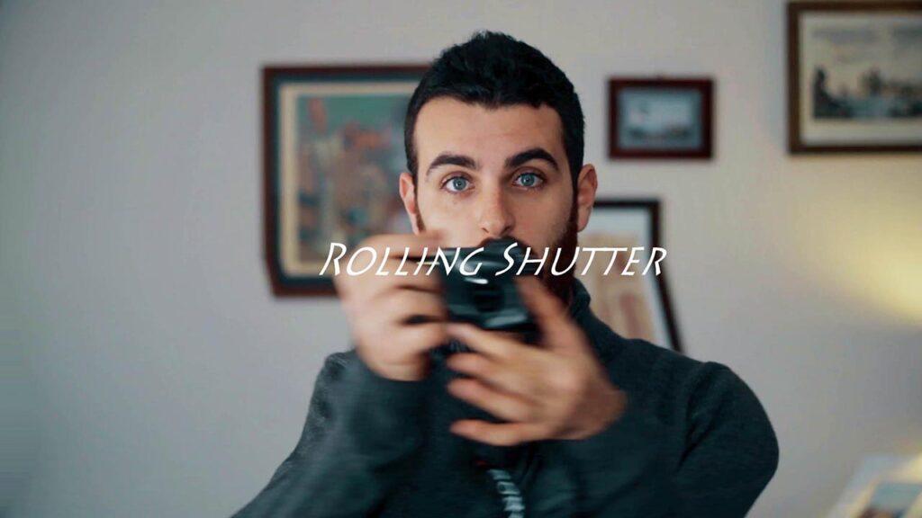 rolling shutter sony a6300