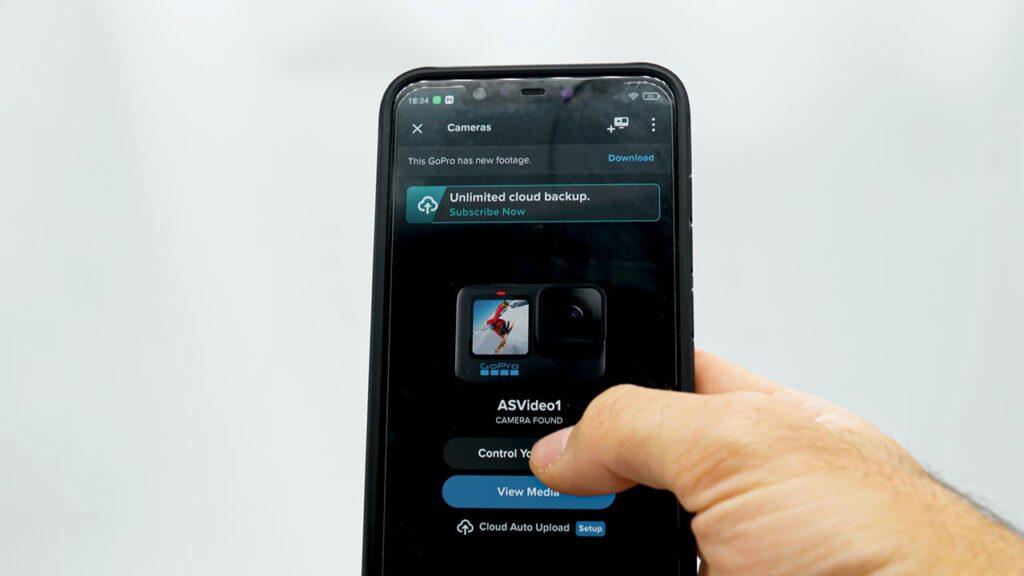 Controllo remoto smartphone e gopro hero 10